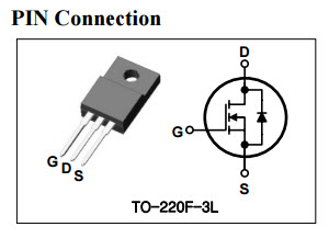 HomeMade DIY HowTo Make: AUK C1603 SMK0825 N Channel Mosfet