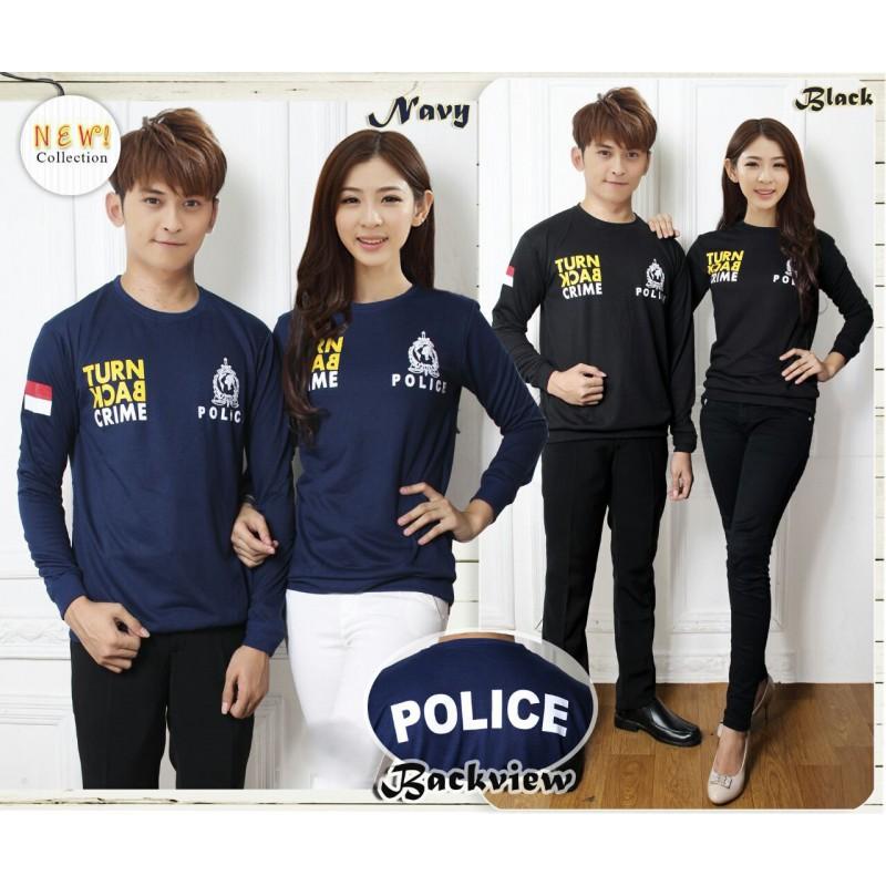 Jual Online Sweater Couple Turn Back Crime Jakarta Bahan Babytery Terbaru