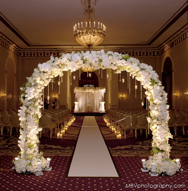 Ideas For A Small Wedding Ceremony: Wedding Altar Decorations