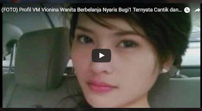 Profil dan biodata Vionina Magdalena wanita viral Tanpa Busana di jalanan