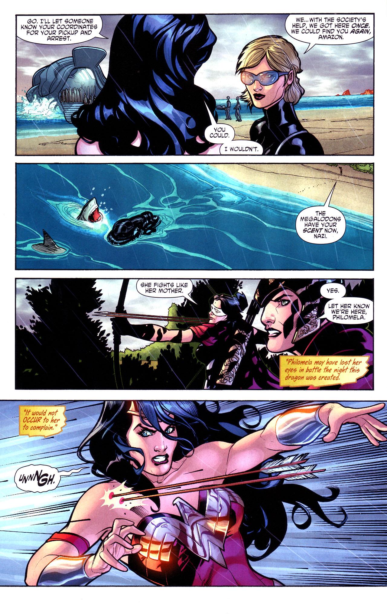 Read online Wonder Woman (2006) comic -  Issue #17 - 12