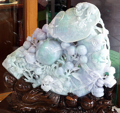 final fine carved jade stone
