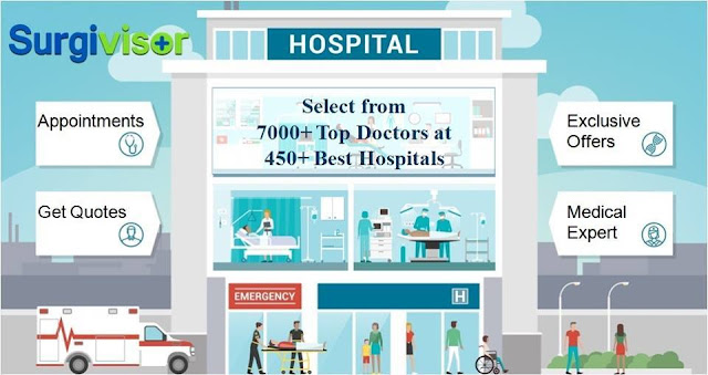 Best hosptials & doctors for all kind of surgery