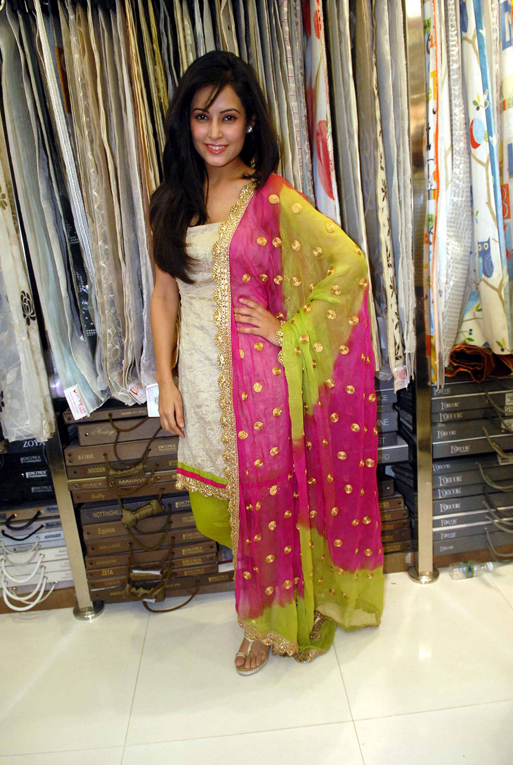 gorgeous hot sexy Disha pandey in etnic salwar kameez at darpan 1st anniversary