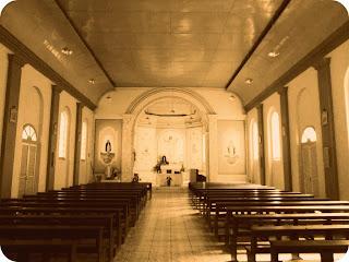 Interior da Capela Senhor Bom Jesus, em Rio Rufino