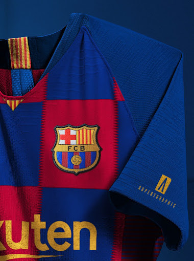 This Is How The Nike FC Barcelona 19-20 Kit Will