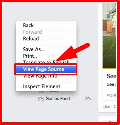 how to tell who is looking at your facebook page