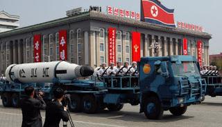 Rudal Balistik Kapal Selam (SLBM) Korea Utara
