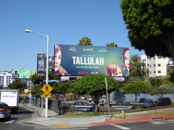 Tallulah movie billboard