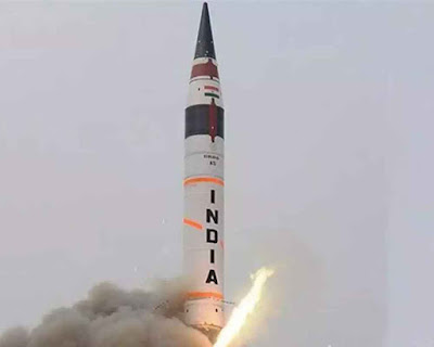 Nuclear Capable Agni-IV Successfully Test-Fired