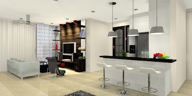 interior design the greens condo ttdi