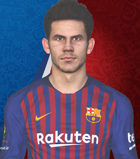 PES 2017 Faces Carles Aleñá by Huseyn