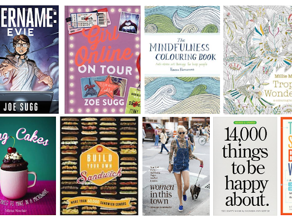 Xmas Gift Guide 2015 | Stocking Filler Books