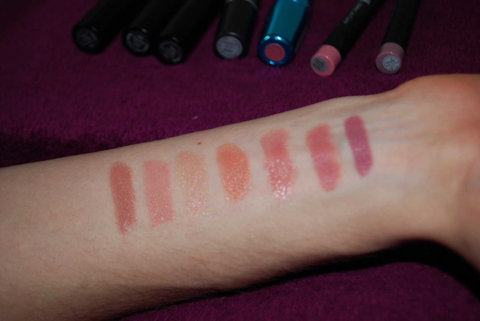 Studs And Dreams Lip Week Nude Lipstick Collection