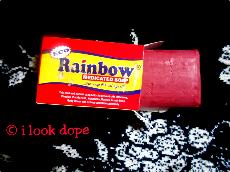 Eco rainbow medicated soap review, is rainbow medicated soap safe, about rainbow medicated soap, comments, rainbow soap ingredients, original rainbow medicated soap, eco rainbow soap for pimples, acne, body odour, ilookdope, i look dope with chris konor, reviews, price