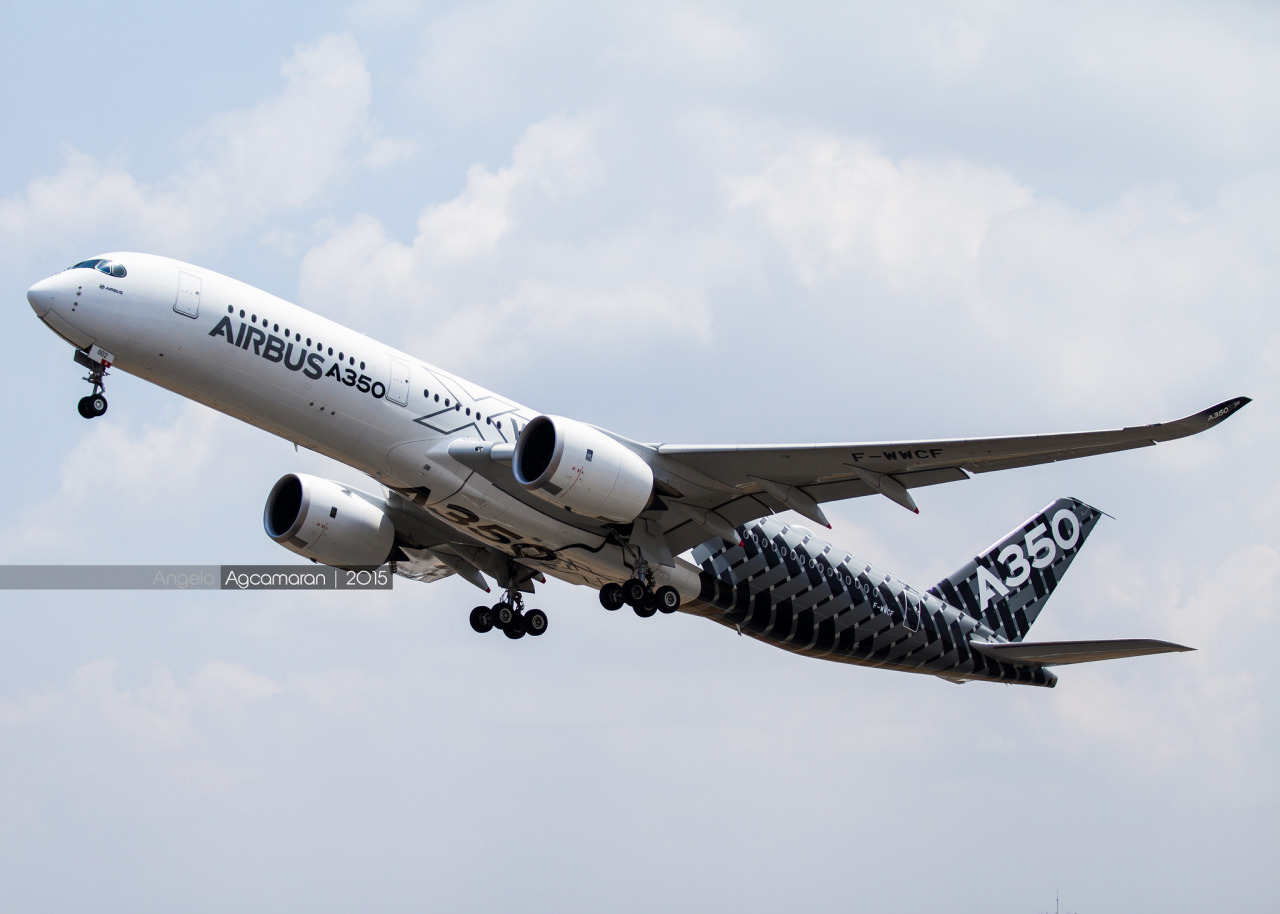 Philippine Airlines Evaluates The A350 Aircraft