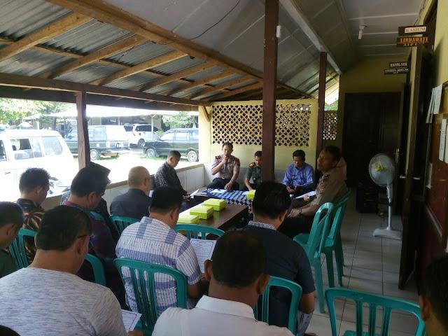 Jaga Ketertiban Hiburan Masyarakat, Polsek Tanjung Raja Gelar Pertemuan