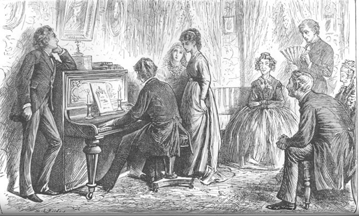 Arnoldian Com Sir Samuel Luke Fildes Quot The Mystery Of Edwin Drood Quot Illustrations