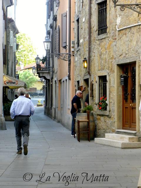 una calle di Muggia