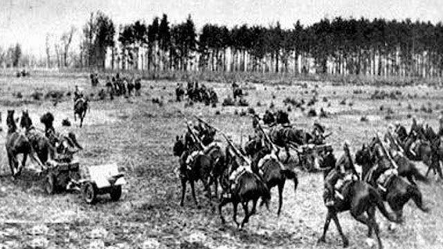 Horses in World War II worldwartwo.filminspector.com Polish cavalry troops