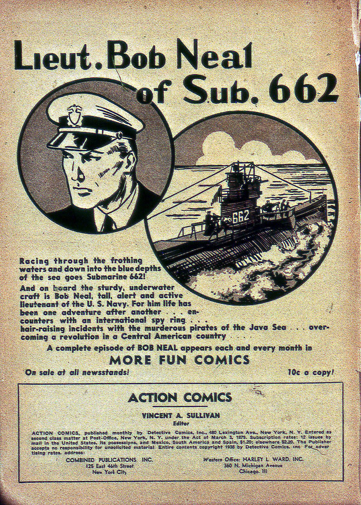 Action Comics (1938) 8 Page 1
