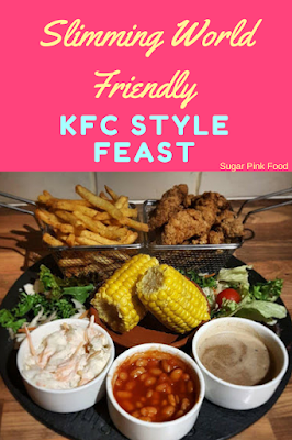 KFC style feast slimming world friendly