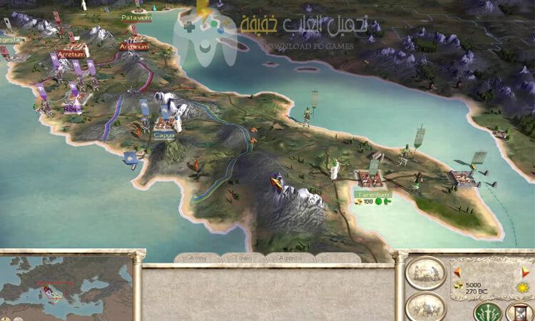 تحميل لعبة 1 Rome Total War مضغوطة بحجم صغير
