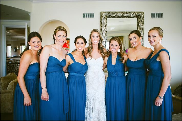 Gorgeous blue bridesmaids dresses | Sargeant Creative