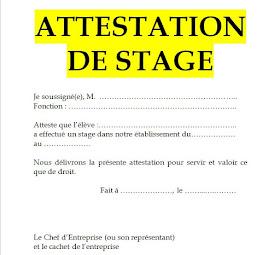 attestation de stage doc, attestation de stage vierge, attestation de stage en entreprise doc, attestation de stage maroc word, demande attestation de stage, attestation de stage en cours, modele attestation de stage de formation,
