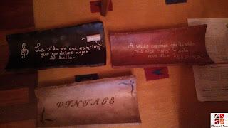 tejas pintadas a mano