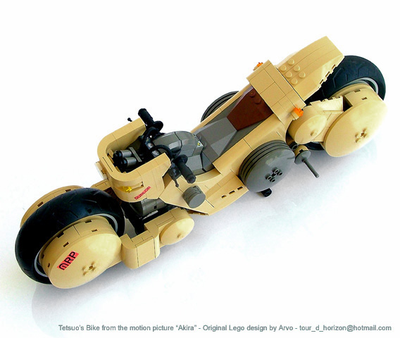 Arvo Brothers Lego - Akira Tetsuo Bike