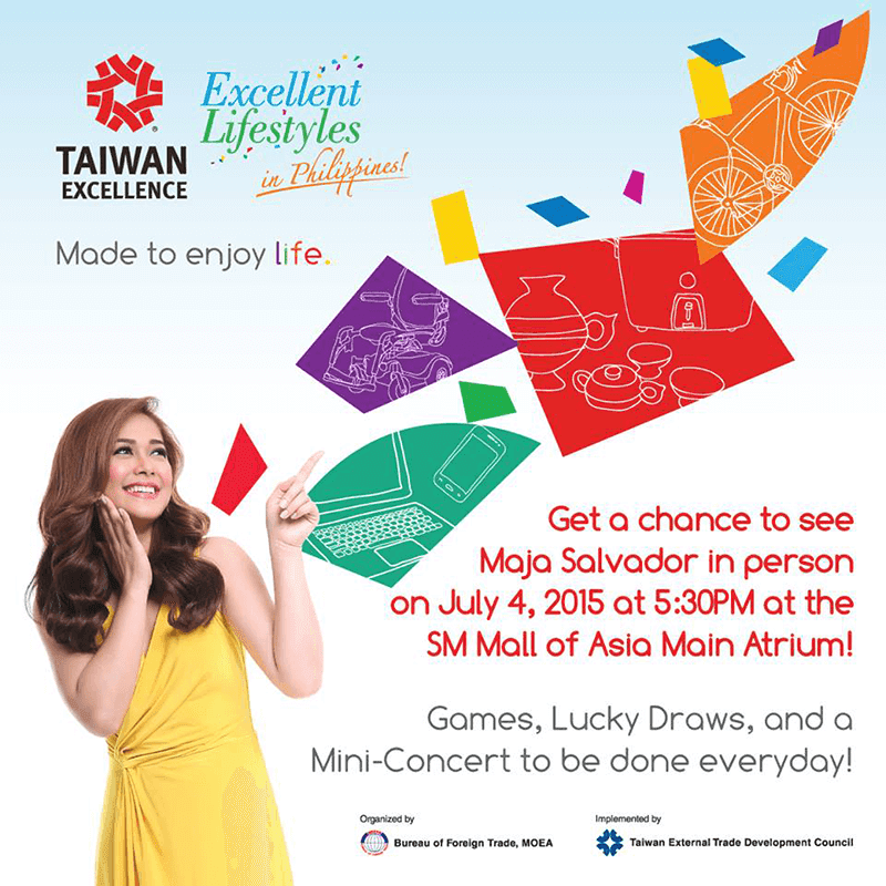 Taiwan Excellence Joins FAME Expo Manila 2015!
