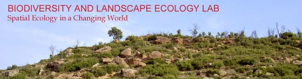 BIODIVERSITY AND LANDSCAPE ECOLOGY LAB
