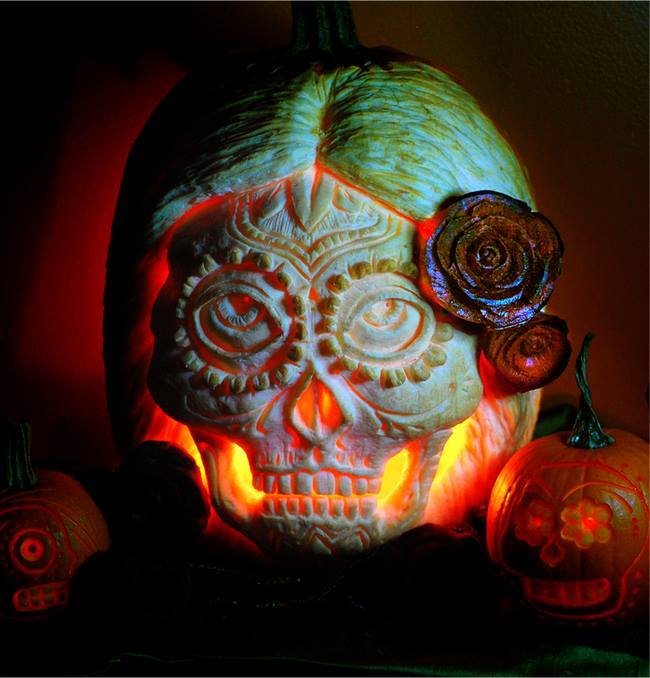 Electronic Halloween Decorations: Electronic Cerebrectomy: HALLOWEEN: Pumpkins, Part II