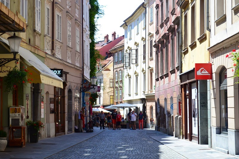 Lubjana, Slovénie, Europe, Voyage