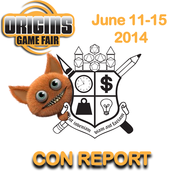 Origins 2014 Convention Report