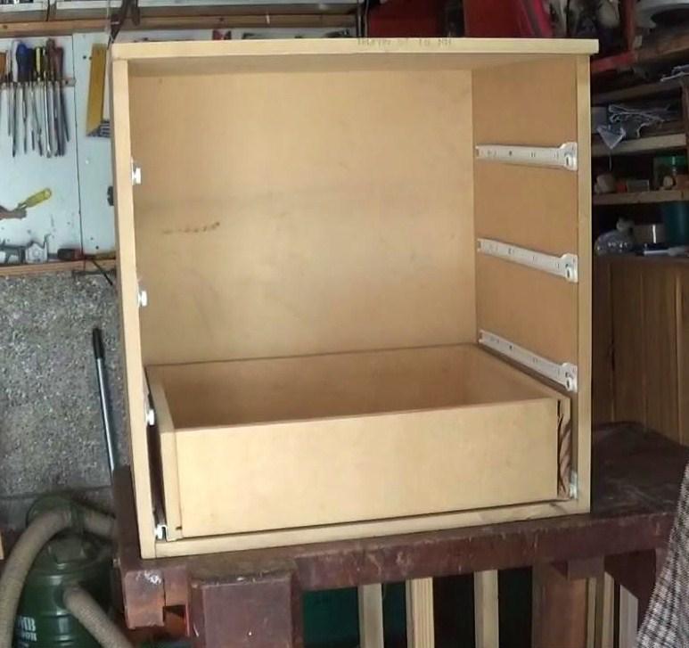 Carpintero en casa como hacer una cajonera de madera - Como se hace una casa de madera ...