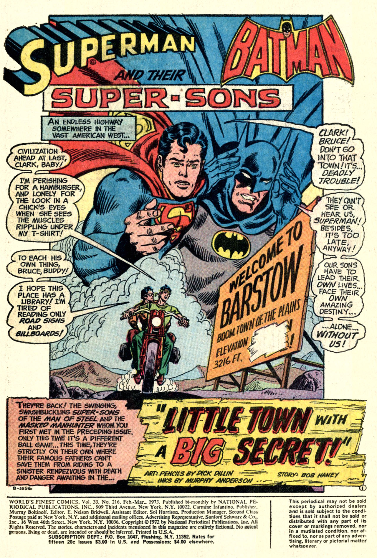 Read online World's Finest Comics comic -  Issue #216 - 3