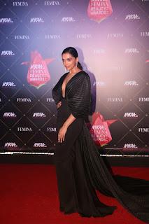 Deepika Padukone At Nykaa Femina Beauty Awards 2019