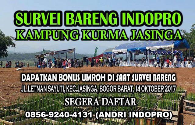 Kampung-Kurma-Jasinga-Indopro-Syariah-Tanah-Kavling-Murah-di-Bogor