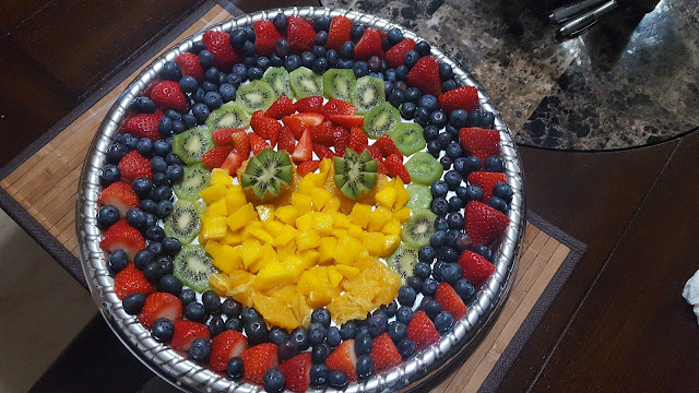 Fruit Platter: A Simple Arrangement