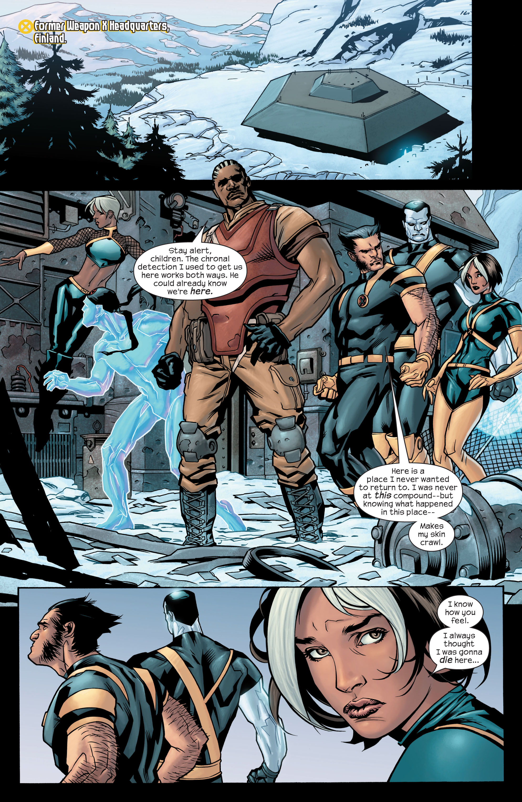 Read online Ultimate X-Men comic -  Issue #77 - 11