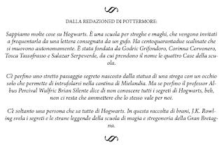Uno dei commenti della redazione di Pottermore