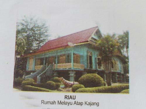 Seni Budaya Arsitektur Rumah Adat Melayu Riau Desain