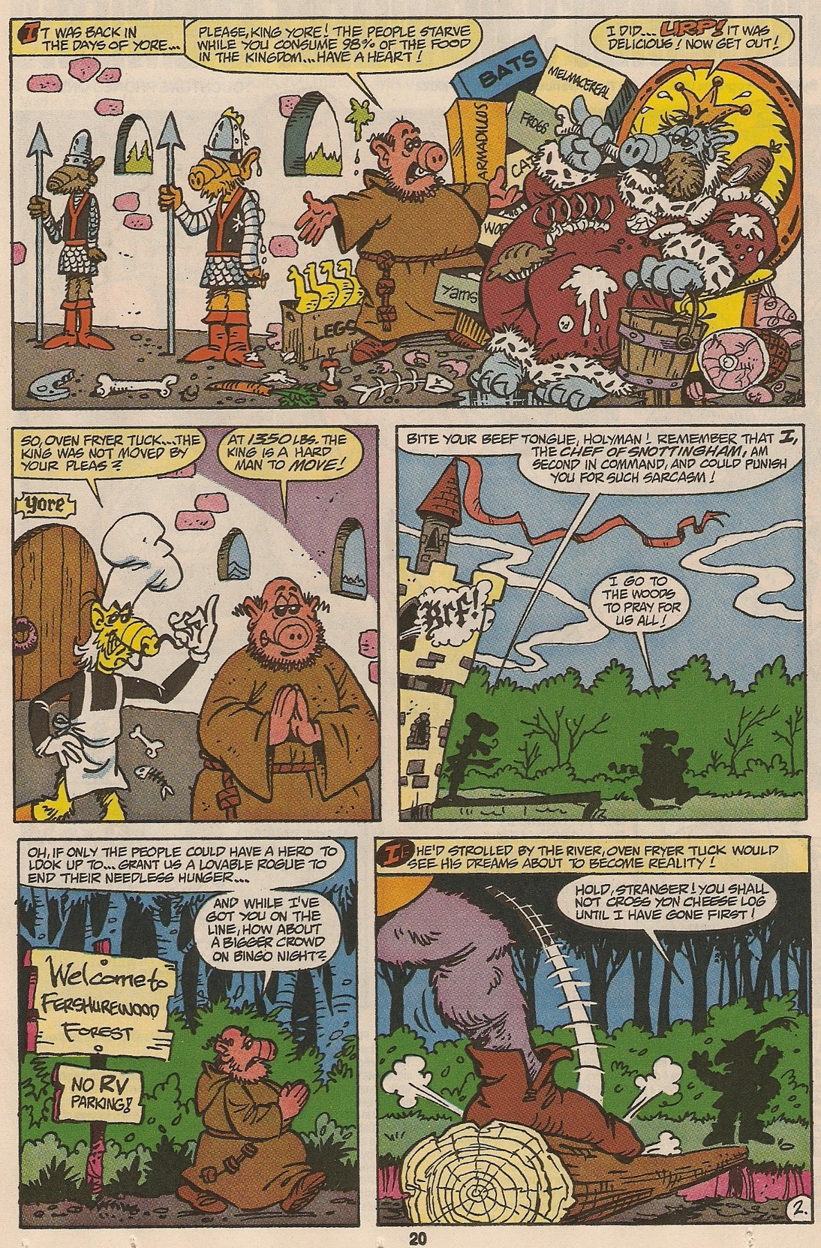 Read online ALF comic -  Issue #47 - 21
