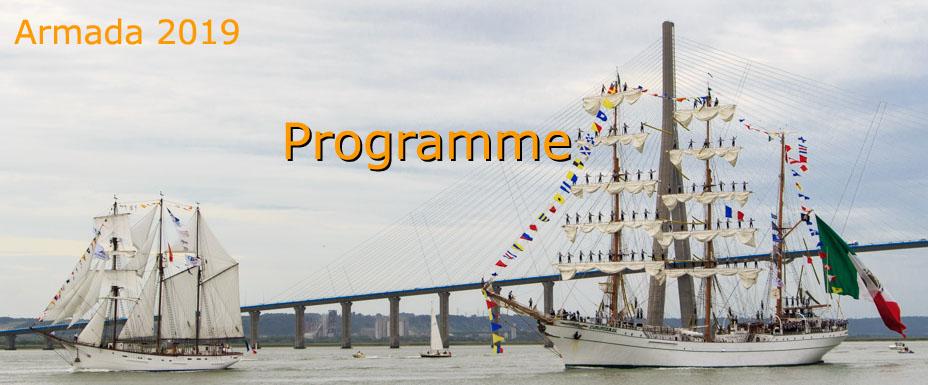 PROGRAMME de l'Armada de Rouen 2019
