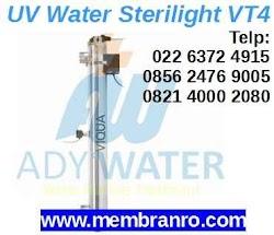 Harga Jual Lampu UV Sterilight VT4 Filter Air di Bandung Jakarta Depok Bekasi Pekanbaru Palembang Medan Balikpapan ADY WATER