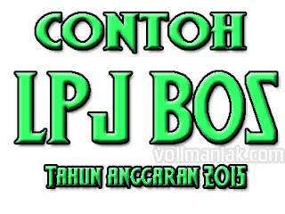 Contoh Lpj Bos Tahun Anggaran 2015 Periode Triwulan I Ii Dan Iii