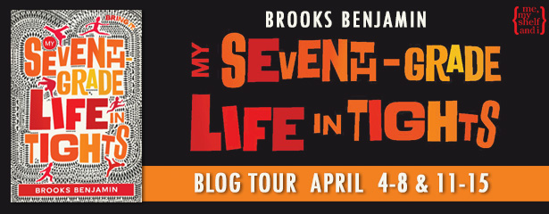 My Seventh Grade Life in Tights - a middle grade novel by Brooks Benjamin #middlegrade #kidlit #dance