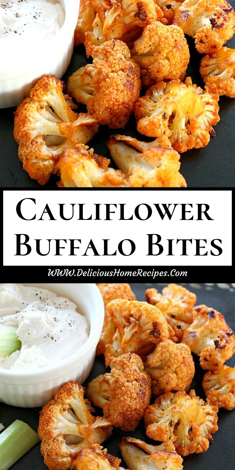 Cauliflower Buffalo Bites
